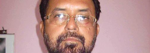 घोसी लोकसभा सीट से चुनाव लड़ रहे भाजपा प्रत्याशी राम इकबाल सिंह