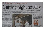 टाइम्स आफ इंडिया, गुड़गांव में प्रकाशित स्टोरी
