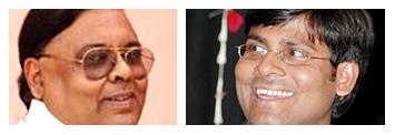 पदमपति शर्मा और मनोज भावुक