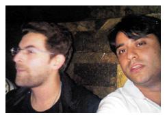 'जेल' फिल्म के एक दृश्य में वाहिद अली खान (दाएं)