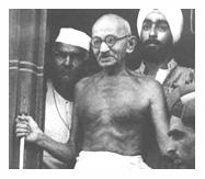 गांधी जी की एक तस्वीर