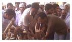 अजय का अंतिम संस्कार