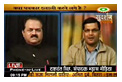 सुदर्शन न्यूज पर प्रसारित लाइव शो में अपनी बात रखते मनोज रघुवंशी और यशवंत सिंह