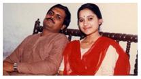 आलोक तोमर जी के साथ सुप्रिया राय (फाइल फोटो)
