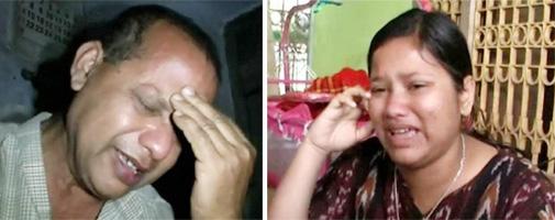 पुलिस-पत्रकार उत्पीड़न की तस्वीर : थाने के हवालात में रोता पिता और घर में रोती बहन