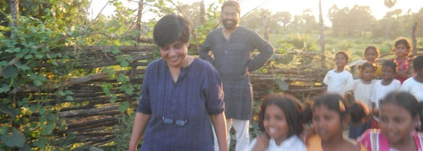 स्मिता और शुभ्रांशु : पुराने दिनों की एक तस्वीर